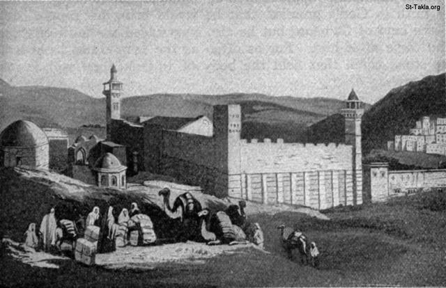 Image: The tomb of Abraham, Isaac and Jacob