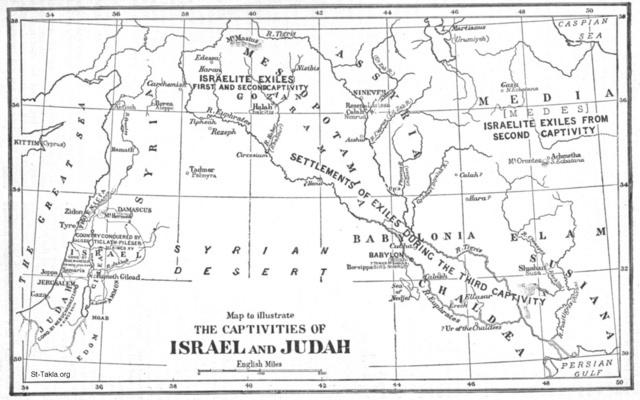 Image: the captivities of israel and judah