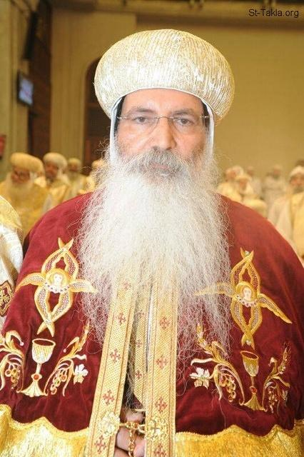St-Takla.org Image: His Grace Bishop Eshak, General Bishop, Fayoum, Egypt (on the day of his ordination by Pope Tawadrous III, June 1, 2014) ���� �� ���� ������ ����: ����� ����� ������ ������ ���� ������ ����� ������ ��� (��� ������ ��� ����� ������ ������� ������ ��� 1 ����� 2014)