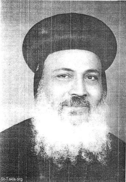 St-Takla.org Image: His Grace the late Bishop Makary, Bishop of Sinai (1940-2000) ���� �� ���� ������ ����: ����� ����� ������ ������� ������ ����� ���� ����� (1940-2000)