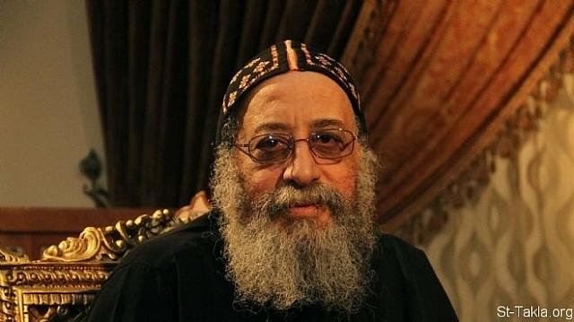 St-Takla.org Image: His Grace Bishop Tawadrous, General Bishop of Beheira, who became on November 2012 His Holiness Pope Tawadrous the Second, the Coptic Orthodox Pope #118 ���� �� ���� ������ ����: ����� ����� ������ ������ ������� ���� ��� ������ɡ ����� ���� �� ������ 2012 �� �������� ������ ������� ������ ������ ��� 118 �� ������� ��������