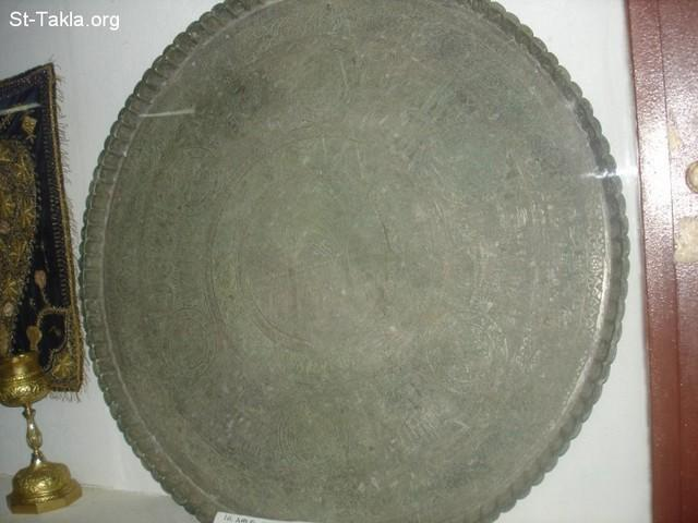 St-Takla.org Image: Ancient big plate, from Entoto Mariam Church Museum, Addis Ababa, from Saint Takla dot org's Ethiopia visit, 2008 ���� �� ���� ������ ����: ��� ���� ���ѡ �� ���� ����� ������� ������ ������ ���� ����ǡ �� ����� ���� ��� ���� ��� ���� �������� ��� 2008