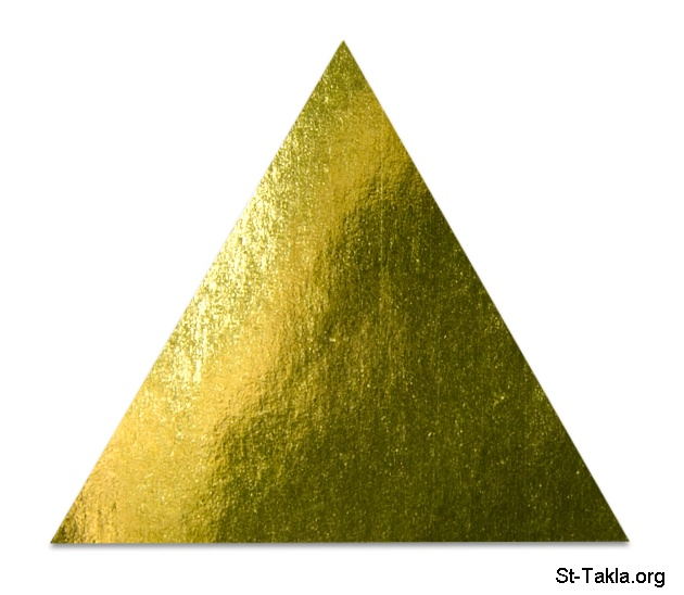 Image: gold triangle 01