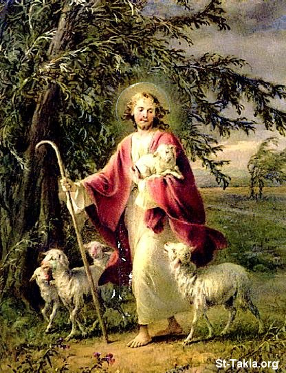 Image: Jesus The Good Shepherd 23 صورة
