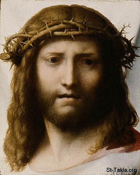 Image: Holy Face of Jesus 25 Antonio Allegri da Correggio صورة