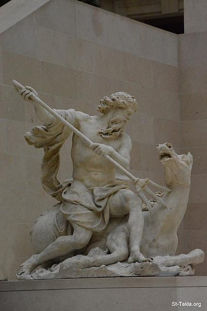 "St-Takla.org Image: Neptune (the god of the ocean) statue, by Antoine Coysevox (1640-1720), Marble (photo 2), H.: 1.85 m.; L. 1.77 m., plaster model: 1699, marble executed in 1705 - The Louvre Museum (Musأ©e du Louvre), Paris, France - Photograph by Michael Ghaly for St-Takla.org, October 11-12, 2014 طµظˆط±ط© ظپظٹ ظ…ظˆظ'ط¹ ط§ظ""ط£ظ†ط¨ط§ طھظƒظ""ط§: طھظ…ط«ط§ظ"" ظ†ط¨طھظˆظ† (ظ†ظٹط¨طھظˆظ†) ط¥ظ""ظ‡ ط§ظ""ظ…ط§ط، ظˆط§ظ""ط¨ط­ط± ظپظٹ ط§ظ""ظ…ظٹط«ظˆظ""ظˆط¬ظٹط§ ط§ظ""ط±ظˆظ…ط§ظ†ظٹط©طŒ ط¹ظ…ظ"" ط§ظ""ظپظ†ط§ظ† ط£ظ†ط·ظˆط§ظ† ظƒظˆظٹط²ظٹظپظˆ (1640-1720)طŒ طھظ… ط¹ظ…ظ"" ط§ظ""ظ†ظ…ظˆط°ط¬ ط§ظ""ط¬طµظٹ ط³ظ†ط© 1699 ظˆط§ظ""ط±ط®ط§ظ…ظٹ 1705 ظ…. (طµظˆط±ط© 2) - طµظˆط± ظ…طھط­ظپ ط§ظ""ظ""ظˆظپط± (ط§ظ""ظ""ظˆع¤ط±)طŒ ط¨ط§ط±ظٹط³طŒ ظپط±ظ†ط³ط§ - طھطµظˆظٹط± ظ…ط§ظٹظƒظ"" ط؛ط§ظ""ظٹ ظ""ظ…ظˆظ'ط¹ ط§ظ""ط£ظ†ط¨ط§ طھظƒظ""ط§ظ‡ظٹظ…ط§ظ†ظˆطھطŒ 11-12 ط£ظƒطھظˆط¨ط± 2014"