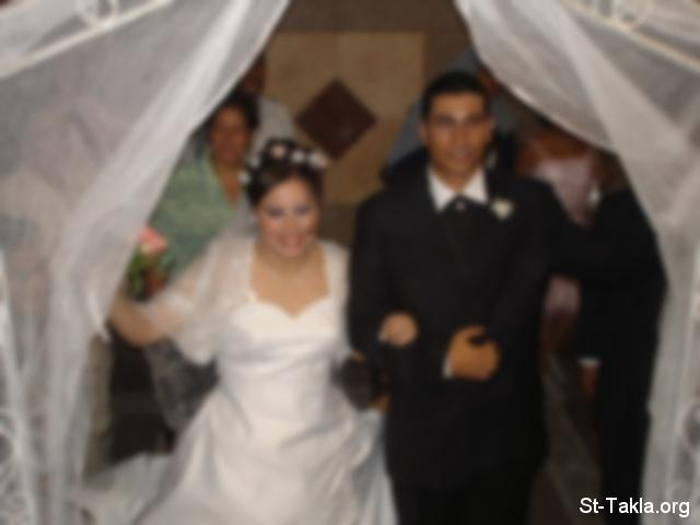 Image: Coptic Orthodox Marriage, Wedding<br>صورة زواج قبطي