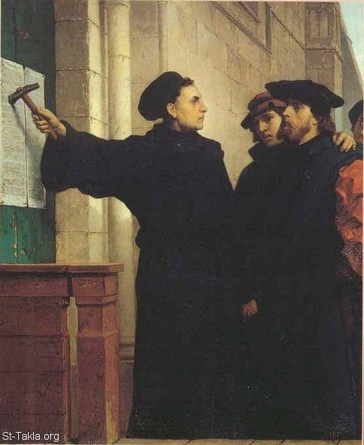Image: luther wittenberg 1517 95 theses