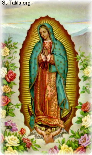 Image: Saint Mary Apparitions 3 Guadalupe 02 صورة