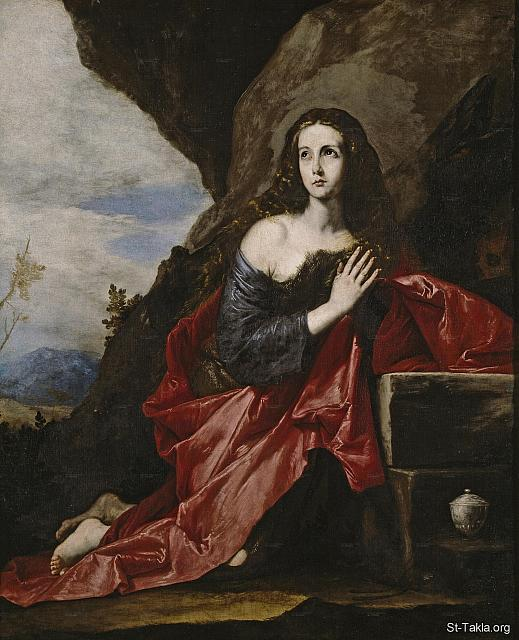 St-Takla.org Image: St. Thais in the Desert (Taeis, Thaies), by Jusepe de Ribera (also described sometimes as a painting of St. Mary Magdalen), 1640-1641, Oil on canvas, 181 x 226 cm, Museo del Prado (Madrid, Spain) ���� �� ���� ������ ����: ���� ������ ����� ������������ ������ɡ ����ӡ ��� ������ ����� �� ������ (���� ������� ���� ���� ������� ���� ��������)� 1640-1641� ��� ��� ���� ����� 181�226 �� ������ �� ���� ��� ����� ����ϡ �������