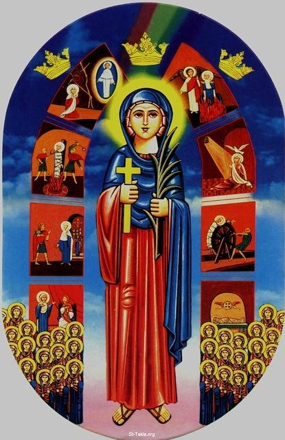 Image: Saint Demiana and Fourty Virgins 012
