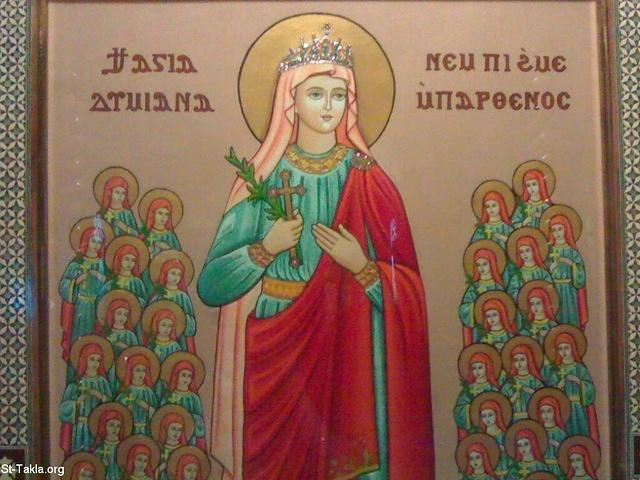 Image: Saint Demiana and Fourty Virgins 014