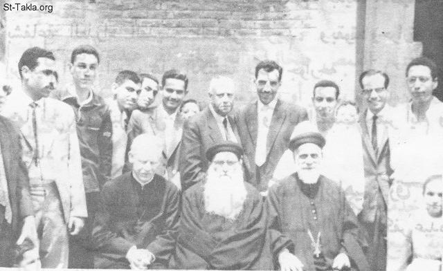 St-Takla.org Image: Hegomen Father Markos Dawoud and Hegomen Father Mikhail Ibrahim with some servants and disciples, whom of them many were ordained as Coptic priests: Hegomen Father Asheia Mikhail, Hegomen Father Mina Mikhail, Fr. Estafanous Azer, Fr. Mekail Naguib, Father Gawargios Atallah, and Fr. Shenooda Labib ���� �� ���� ������ ����: ����� ���� ���� ������ ������� ������� ��� ������ �� ������ ����� ������� ��� ������. ��� ���� ��� ������� ����� ��� �� ����� ������ ���� �������� (����� ������ ������� - ����� ���� ������� - ���� �������� ����)� ���� ������� ���ȡ ���� ������� ������� - ���� ����� ����