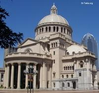 Image: Christian Science Mother Church Boston Massachusetts <br> صورة الكنيسة الأم للعلم المسيحي