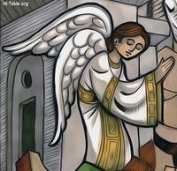 Image: An angel <br> صورة ملاك