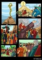 Gallery Images: Prophet Moses Comics by Mina Anton <br> صور قصص مصورة: حياة موسى النبي