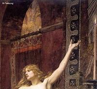 Image: Charles William Mitchell Hypatia 1885 details
