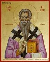 Image: Saint Titus Bishop if Crete 01 صورة القديس تيطس