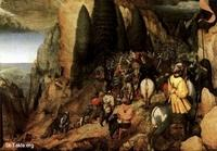 Image: 023 The Conversion of Saul Pieter The Elder Bruegel Art 1567 Kunsthistorisches Museum Vienna صورة