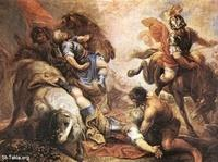 Image: 024 The Conversion of St Paul Juan Antonio Frias Y Escalante Museo Cerralbo Madrid صورة