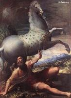 Image: 025 The Conversion of St Paul Parmigianino Kunsthistorisches Museum Vienna صورة