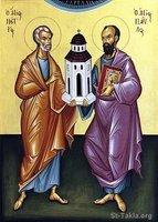 Image: Coptic Saints Saint Peter n St Paul 01 صورة