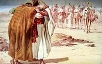 Image: The Meeting of Jacob and Esau<br>صورة