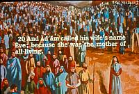 Image: And Adam called his wife's name Eve, because she was the mother of all living<br>صورة و دعا ادم اسم امرأته حواء لأنها أم كل حي