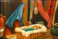 Image: The birth of Isaac<br>صورة ولادة أسحق