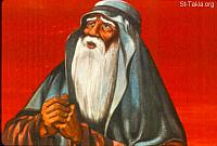 Image: Abraham saw the place afar off for the burnt offering<br>صورة إبراهيم يبصر مكان المحرقة
