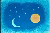 Image: Joseph's dream about the sun, the moon, and the stars<br>صورة حلم يوسف عن الشمس والقمر والكواكب