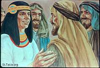 Image: Joseph speaking with all his brothers<br>صورة يوسف يتحدث إلى إخوته