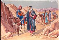 Image: Moses heads back to the land of Egypt<br>صورة موسى يعود لأرض مصر