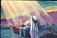 Image: Moses beseeches the Lord<br>صورة موسى يتوسل إلى الرب