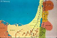Image: A map showing the roads taken by the spies of Israel<br>صورة خريطة توضح سير الجواسيس