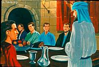Image: The king appointed for them a daily provision of the king's delicacies<br>صورة عين لهم الملك وجبة من أطياب الملك