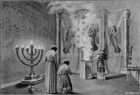 Image: 039 the glory enters the tabernacle