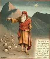 Image: ezekiel is brought to valley of bones