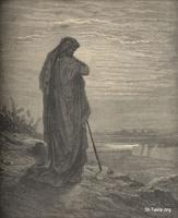 Image: The prophet Amos, Paul Gustave Doré 's Bible Illustrations, 053 صورة عاموس النبى، جوستاف دوريه