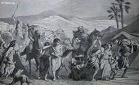 Image: Israelites carried captive