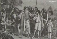 Image: Jacob setting out for Egypt