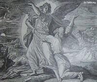 Image: Jacob wrestling with the angel
