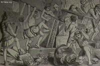 Image: King Josiah destroying the idols of baal