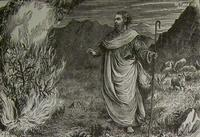 Image: Moses and the burning bush