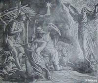 Image: The angel announces the birth of Christ