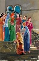 Image: The parable of the ten virgins<br>صورة مثل العشر عذارى