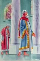 Image: The Pharisee and the tax collector<br>صورة مثل الفريسي والعشار