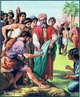 Image: 58 Joseph is sold into slavery by his brothers
