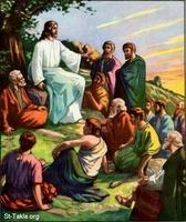 Image: 53 Jesus teaches the people 2