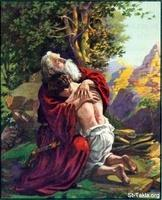 Image: 04 Abraham receives his only son, Isaac, back from God